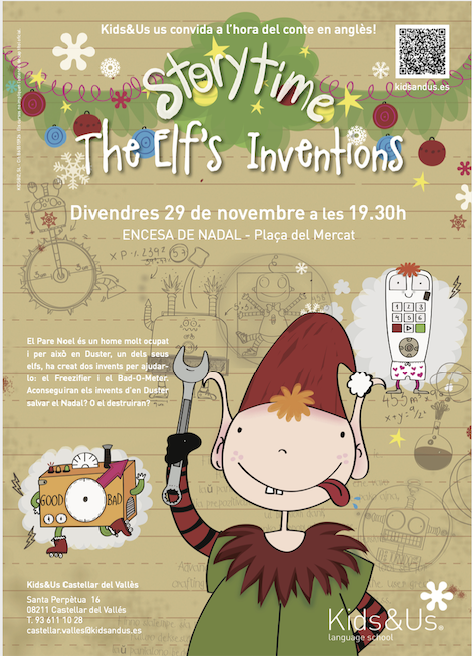 Storytime de Nadal! - THE ELF'S INVENTIONS -